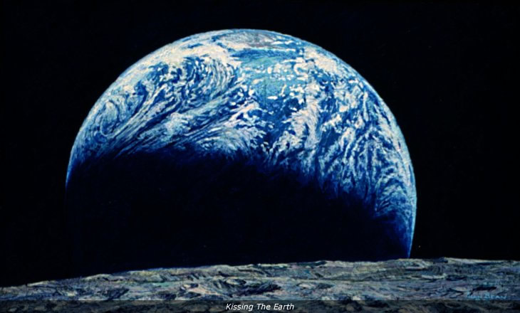 'Kissing the Earth' by Alan Bean